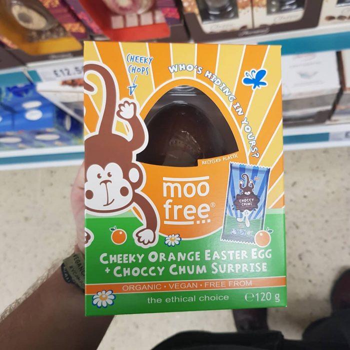 Moo Free Cheky Orange Easter Egg