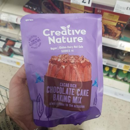 Creative Nature Free From Chocolate Cake Mix