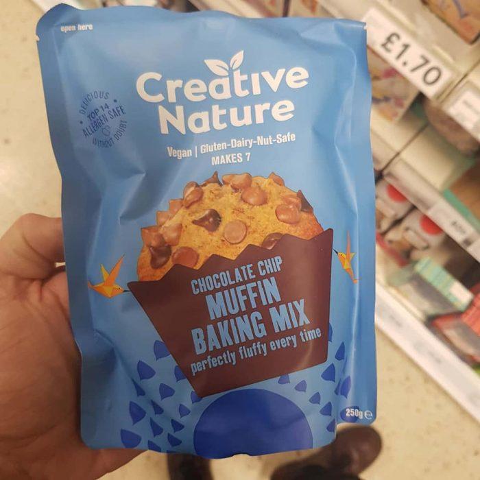 Creative Nature Chocolate Chip Muffin Baking Mix