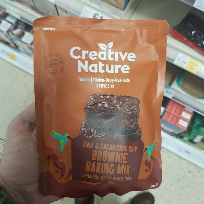 Creative Nature Free From Brownie Baking Mix