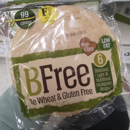 BFree Multigrain Wraps 6 x 46g (276g)