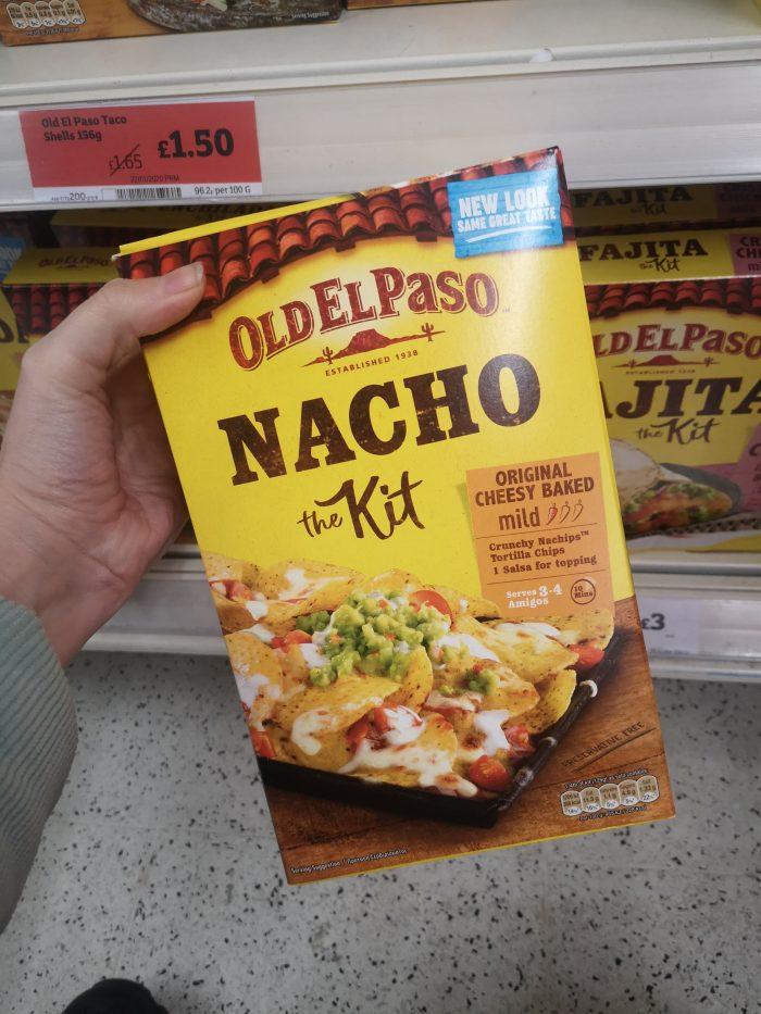 Old El Paso Original Nacho Kit 505g