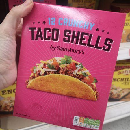 Sainsbury's Crunchy Taco Shells x12 150g