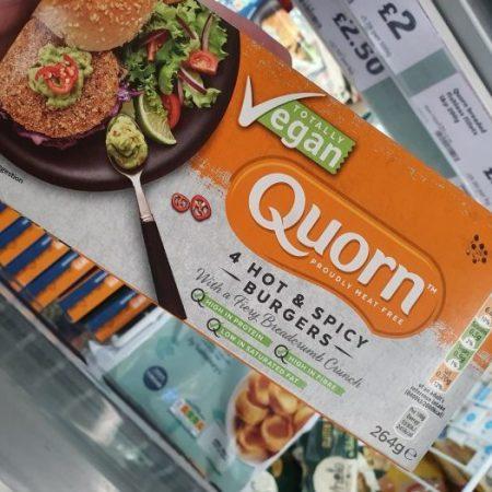 Quorn Vegan Hot & Spicy Burgers