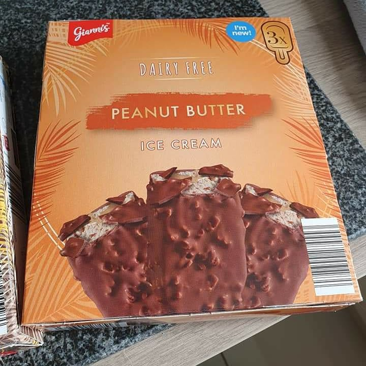 Gianni S Dairy Free Peanut Butter Ice Cream Vegan Food Uk