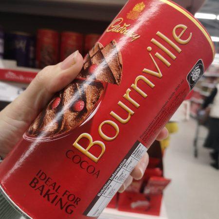 Cadbury Bounville Hot Chocolate Cocoa Powder 250G