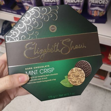 Elizabeth Shaw Mint Crisp Boxed Chocolates 175G