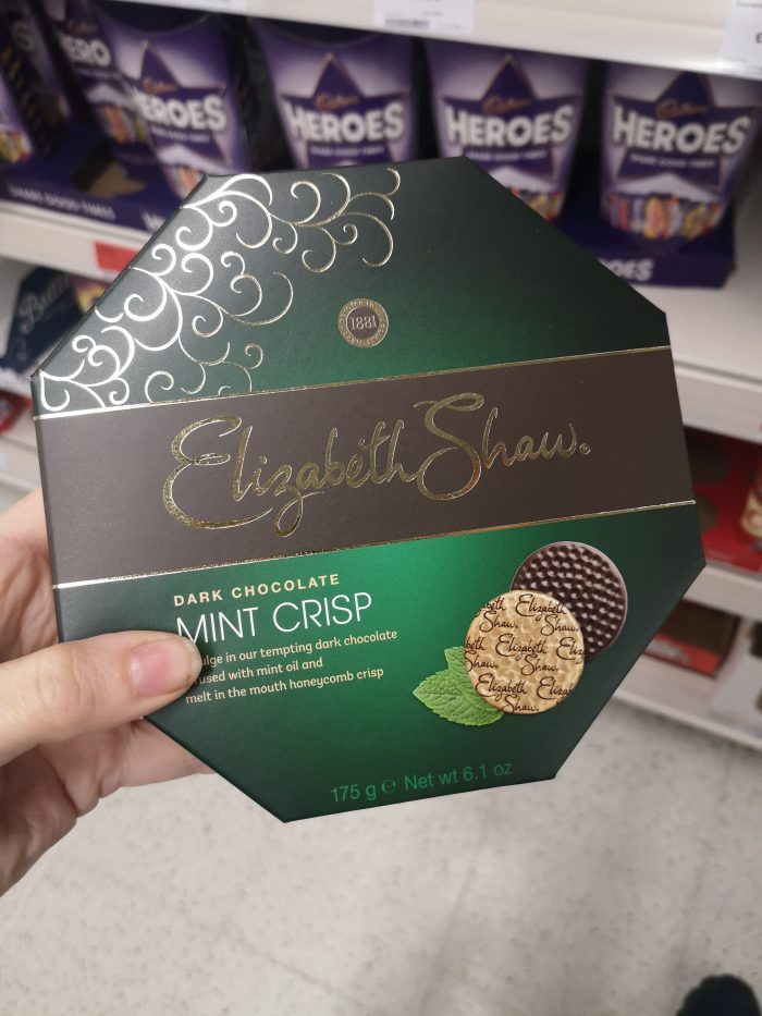 Elizabeth Shaw Mint Crisp Boxed Chocolates 175G