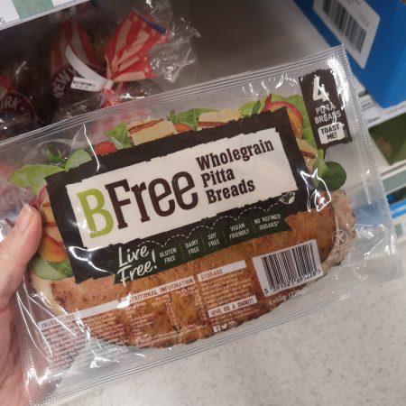 BFree Wholegrain Pitta Breads 4 x 55g