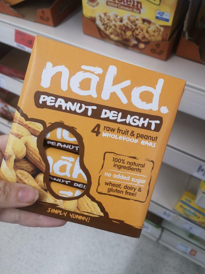 Nakd Peanut Delight Multipack 4 x 35g