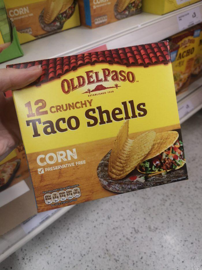 Old El Paso 12 Taco Shells 156G