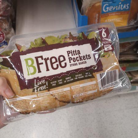 BFree Snack Size Pitta Pockets 6x32g
