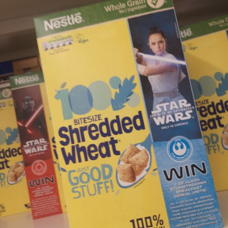 Nestle Shredded Wheat Bitesize Cereal 750g