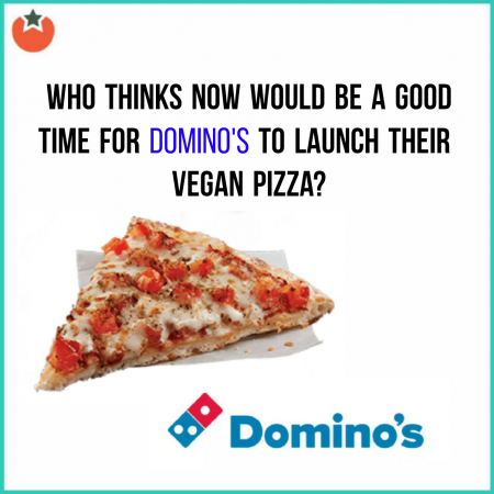 When Is The New Vegan Cheese Pizza Going To Launch At Domino's?