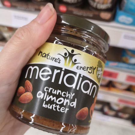 Meridian Crunchy Almond Butter 170g