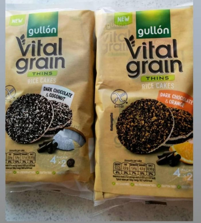 Gluten Free Rice Cakes With Dark Chocolate And Orange VitalGrain