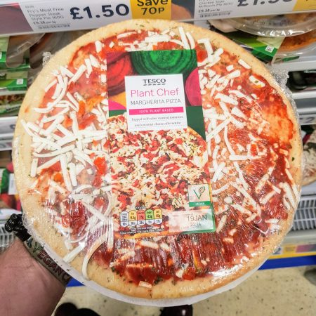 Tesco Plant Chef Margherita Pizza 269g