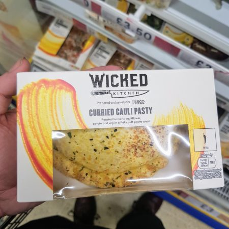 Wicked Kitchen Curried Cauliflower Pasty 150g