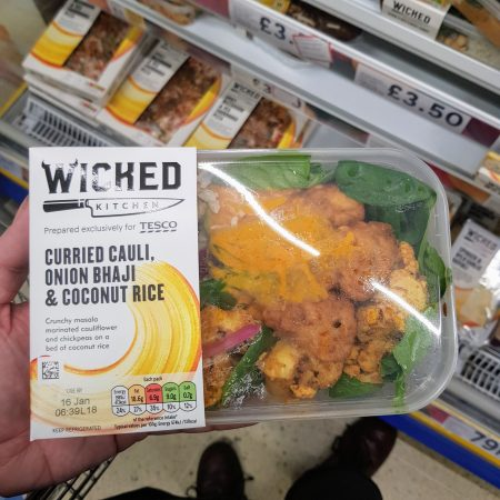 Wicked Kitchen Cauli, Bhaji & Coconut Rice 320g