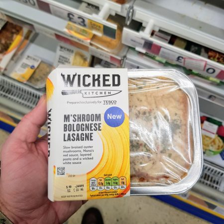 Wicked Kitchen Mushroom Bolognaise Lasagne 400g