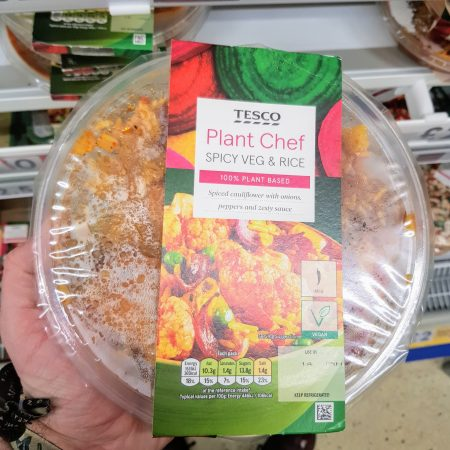 Tesco Plant Chef Spicy Vegetable And Rice 375g