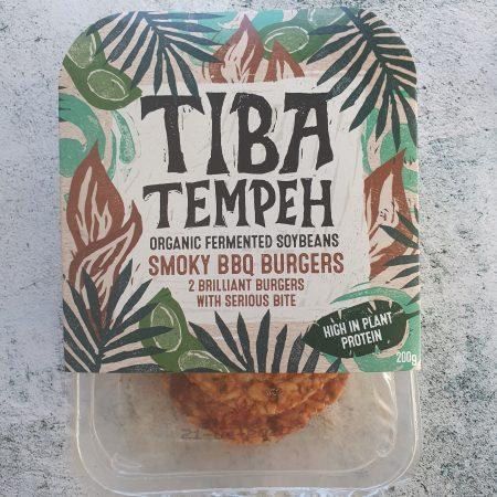 Tiba Tempeh Smoky BBQ Burgers 200g