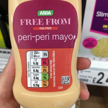 Asda Free From Peri Peri Mayo
