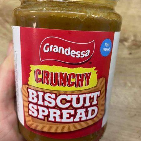 Grandessa Crunchy Biscuit Spread