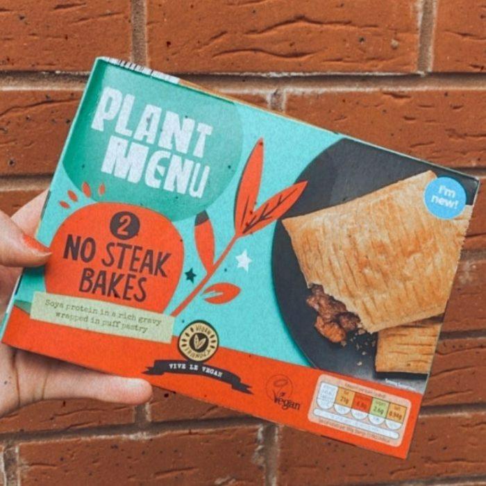 Plant Menu 2 No Steak Bakes