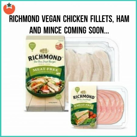 Richmond To Launch a New Meat Free Range (Hopefully)