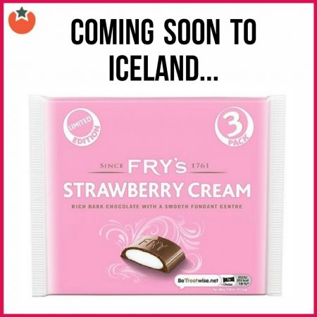 New Fry's Strawberry Chocolate Bar is Coming to Iceland Soon