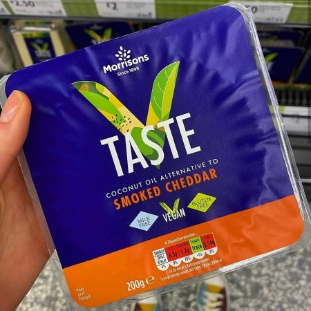 Morrisons Free From VTaste Smoked Cheddar 200g