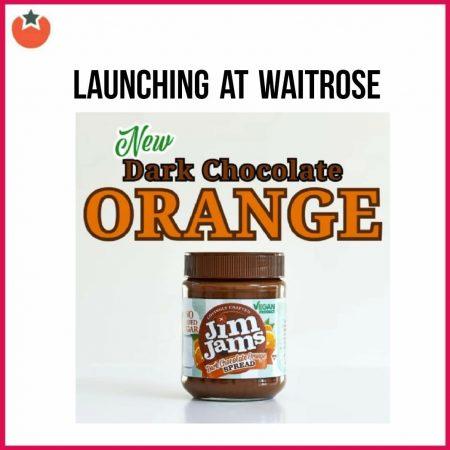 New Jim Jams Chocolate Orange Spread is Vegan