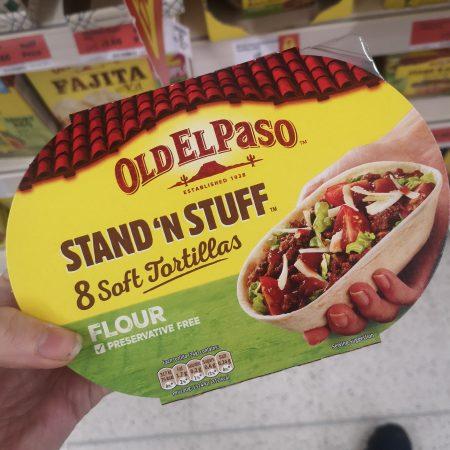 Old El Paso Stand 'N' Stuff Soft Tortillas x8 193g