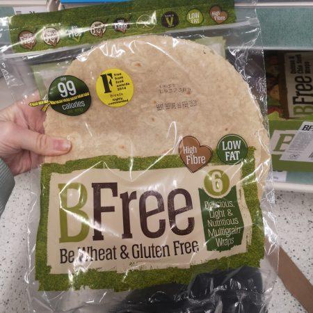 Bfree Gluten Free Multigrain Wrap 6 X 42G