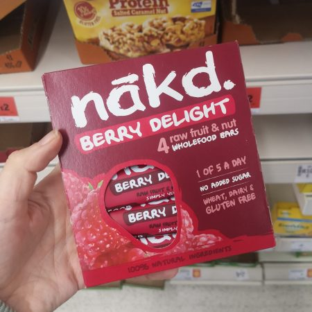 Nakd Berry Delight Fruit & Nut Bars 4 x 35g