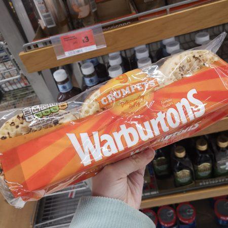 Warburtons Crumpets 9Pk