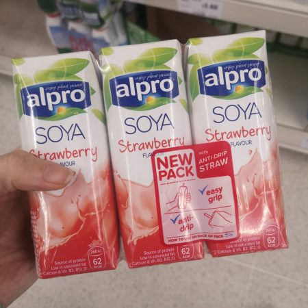 Alpro Strawberry Strawberry Shake 3X250ml