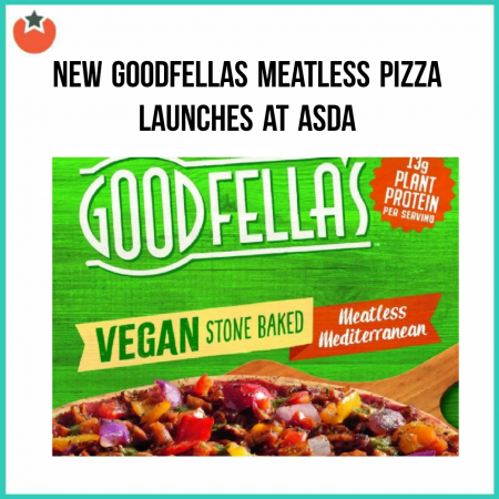 New Meatless Mediterranean Pizza Launches at Asda