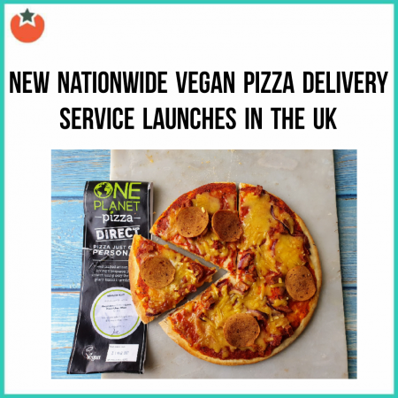 New Service Delivers Frozen Vegan Pizzas to Your Door During Lockdown