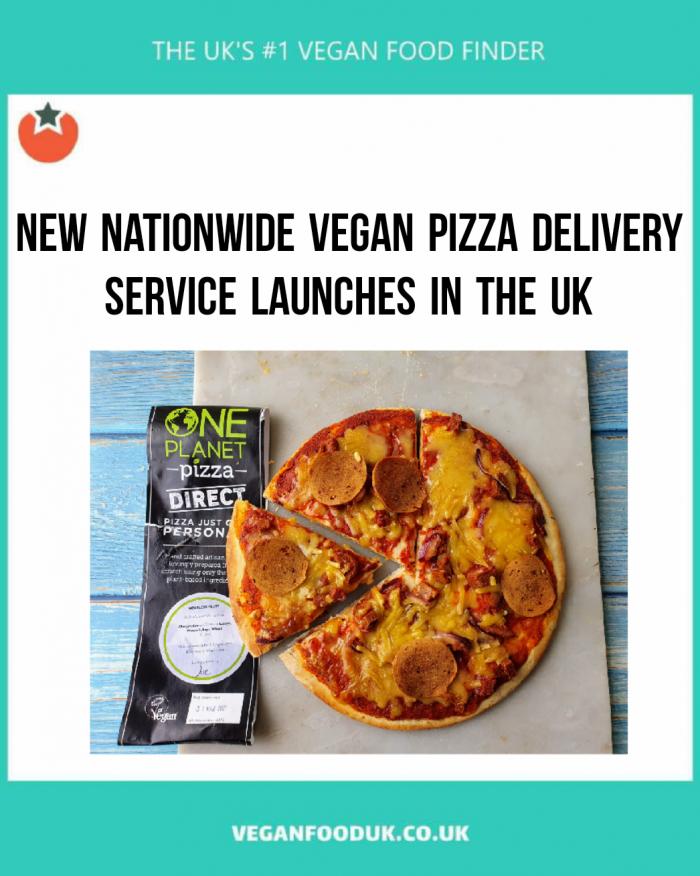 New Service Delivers Frozen Vegan Pizzas to Your Door During Lockdown