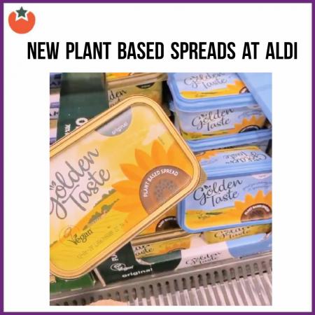 Aldi Launch Their Own Vegan Spreads