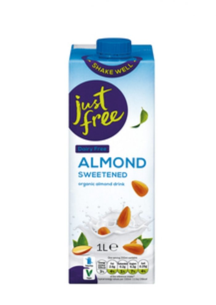 Just Free Almond Sweetened Organic Almond Drink
