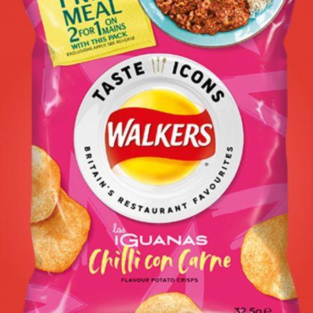 Walkers Crisps Las Iguanas Chilli Con Carne