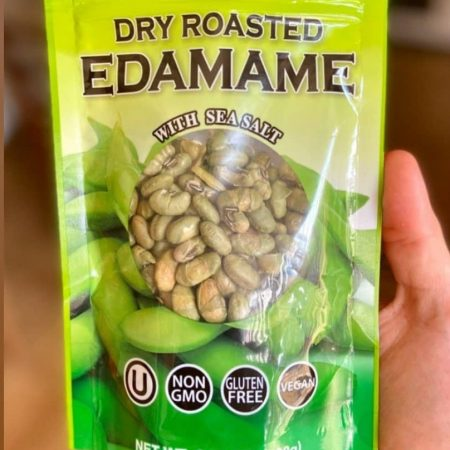 Hapi Dry Roasted Edamame With Sea Salt