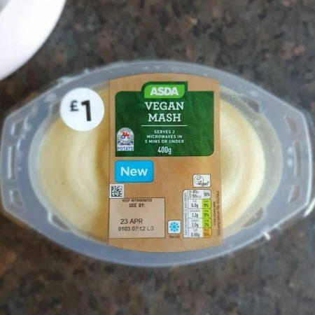 Asda Vegan Mash 400g