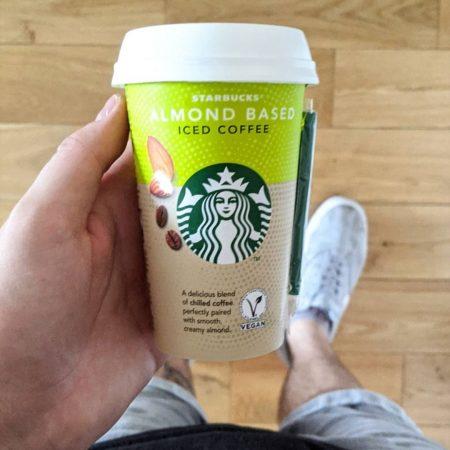 Starbucks Almond Based Iced Coffee