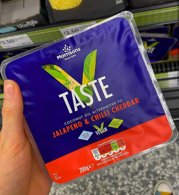 Morrisons Free From Jalapeno & Chilli Cheddar
