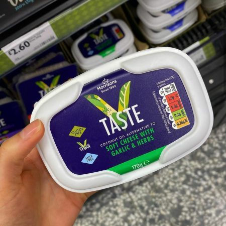Morrisons Free From Soft Cheese With Garlic & Herbs 170g