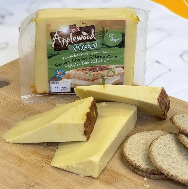 Applewood – Smoky Vegan Cheese Alternative Block 200g